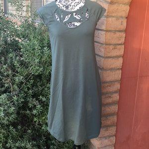 Synergy orangic clothing dress